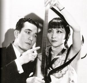 Anna May Wong en Sessue Hayakawa, 1931. Publiciteitsfoto.