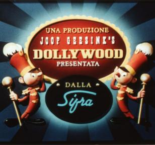 Aankondiging film uit de Dollywood-studio van Joop Geesink (collectie EYE Film Institute),15-7-2011.