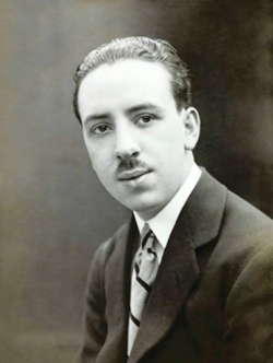Alfred Hitchcock in 1920